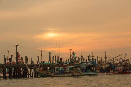 The fisherman life in Pataya.