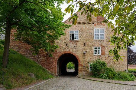 Historic stone gate house