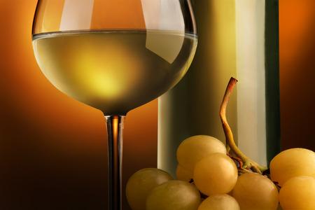 goblet of white wine Reklamní fotografie