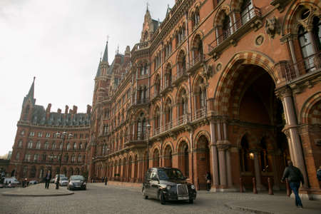 pancras: St Pancras entrance, London