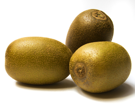 meran: Fresh golden kiwifruit Stock Photo