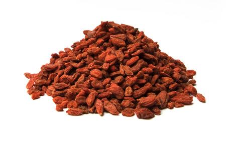 Background of dried goji berries