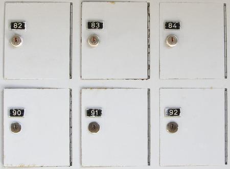 lockers: Vintage metal cabinet lockers