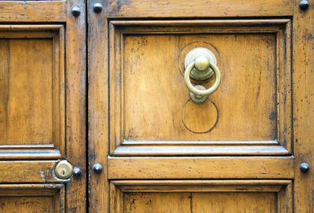 rustiness: Ancient Italian Door in Tuscany, Italy.
