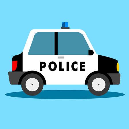 Vector - police car