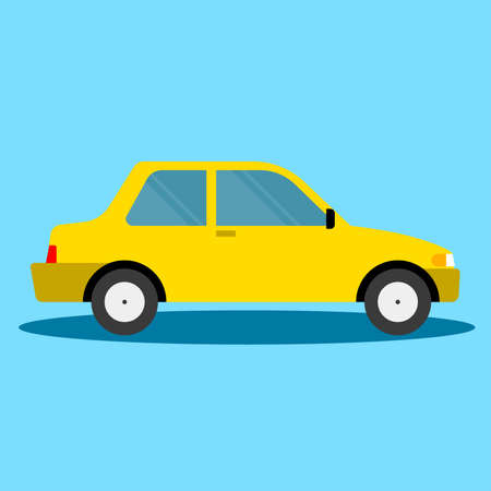 Vector - Auto business icon isolated Illustration