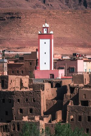 Tinghir province, Morocco. Beautiful small town near Ouarzazate