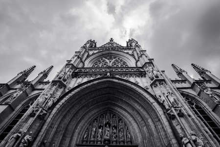 The Cathedral of St. John the Divine, officially the Cathedral Church of Saint John, New York Stock fotó