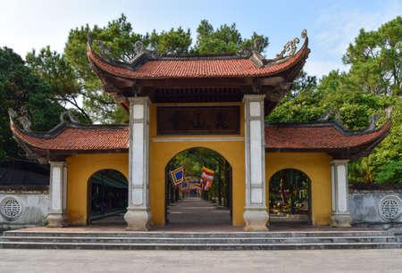 Touristic attractive place in vietnam, Padoga in vietnam.