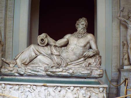 neptuno: la estatua de Neptuno
