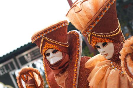Venice carnival - Italy Stock Photo - 18010174