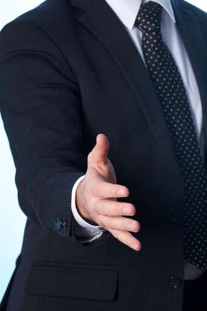bridging the gap: business man