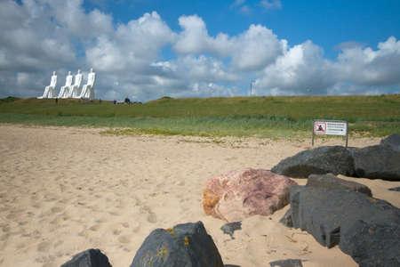 meets: Men meets the sea - Sculpture in Esbjerg,Denmark