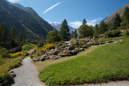 botanic: Valnontey Ao Italy - botanic garden