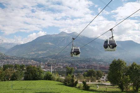 ski lift - Pila Aosta Valley Editöryel