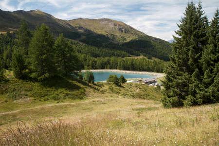 aosta: Pila- Aosta Valley  Stock Photo