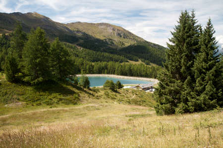 pila: Pila- Aosta Valley  Stock Photo