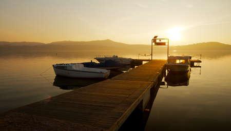 Viverone lake, Piedmont, Italy