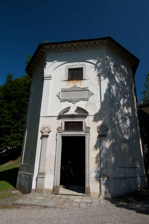 orta lake - church Stock Photo - 18739050
