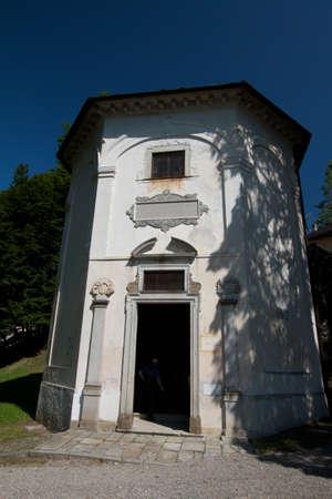 orta lake - church Stock Photo - 18739050