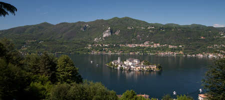 Orta Lake - Italy Stock Photo - 18467376
