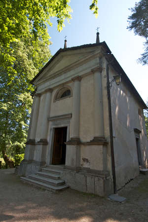 orta lake - church
