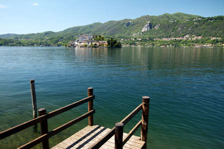 Orta Lake - Italy Stock Photo - 18467392