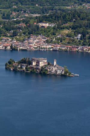 Orta Lake - Italy Stock Photo - 18467416