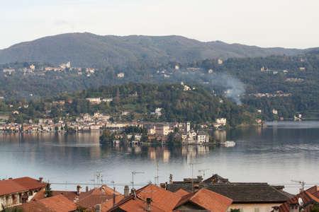 Orta Lake - Italy Stock Photo - 18523131