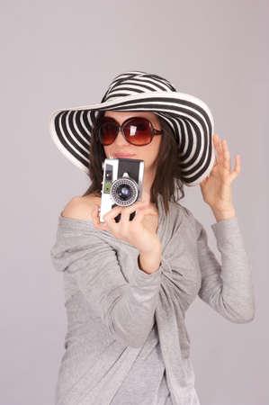 female photographer Stock Photo - 18656746