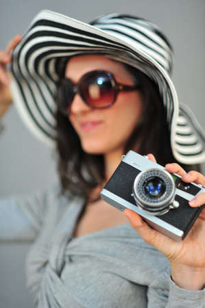 female photographer Stock Photo - 18656742