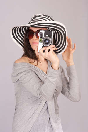 female photographer Stock Photo - 19085464