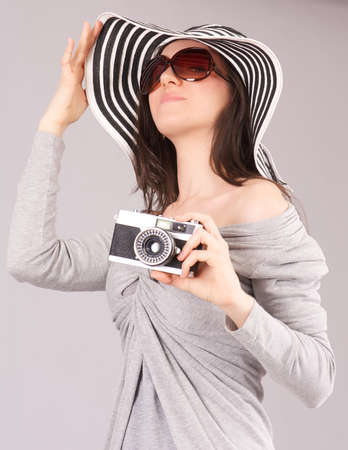 female photographer Stock Photo - 19085462