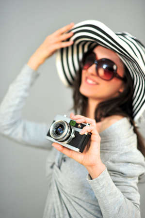 female photographer Stock Photo - 18656743