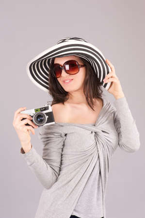 female photographer Stock Photo - 18656744