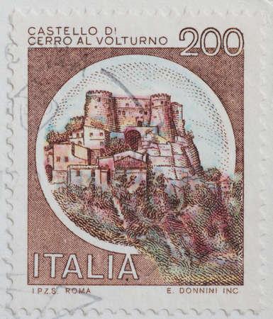 sello postal: sello italiano
