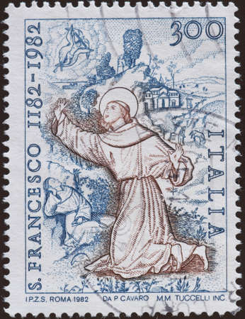 postage stamp - Italy photo
