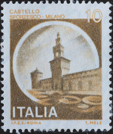 postage stamp - Italy