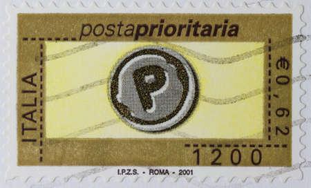 sello postal: sello - Italia Editorial