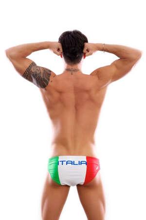 italian model swimmer