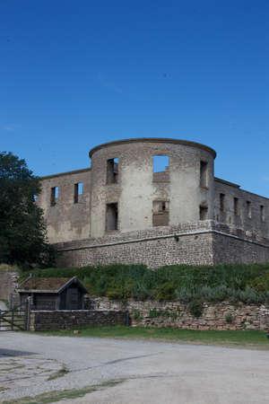 oland: Borgholm castle - Oland island Sweden