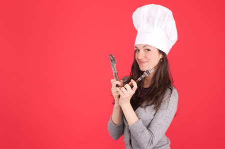 lady chef photo