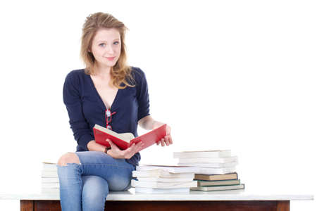 finer: young student Stock Photo