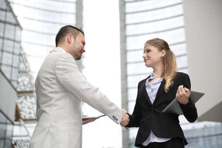 business handshake: business handshake