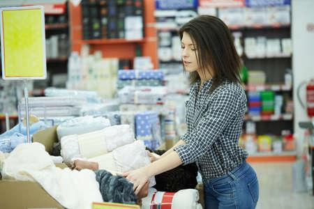 shopping au supermarché
