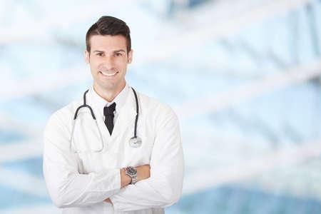 mężczyzna lekarz