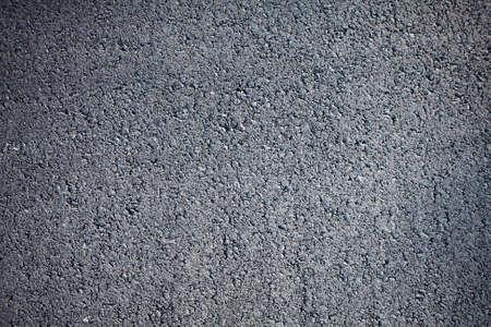 road texture: Close-up Vista orizzontale superiore nuovo asfalto pulito con vignetta Archivio Fotografico