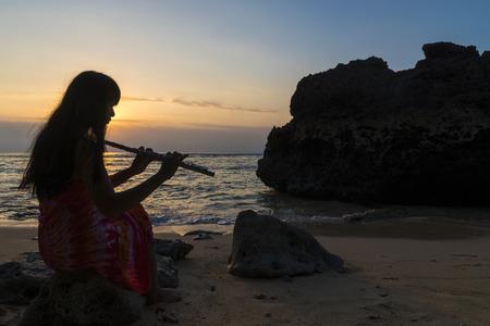 La jeune fille à la flûte