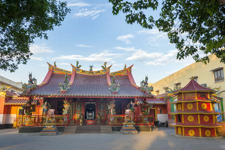 ing: Hwie Ing Kiong, Heritage Temple, Madiun, East Java, Indonesia Stock Photo