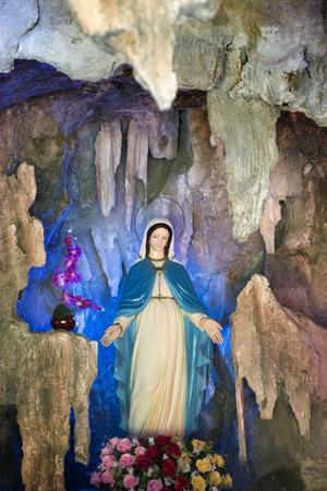 saint: Saint Mary Stock Photo
